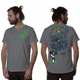 "Camiseta \""Albert Hoffman\"", Gris claro"