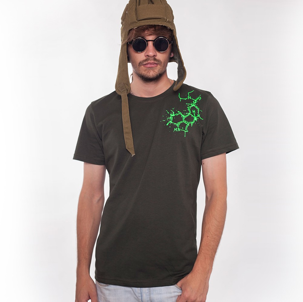 "Camiseta \""Albert Hoffman\"", Gris oscuro"