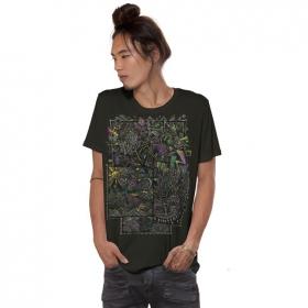 """Camiseta \""""Ambiride\"""", Verde caqui oscuro"""