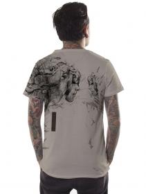 """Camiseta \""""Atlantis\"""", Beige"""