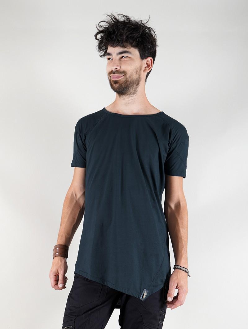 """Camiseta \""""Ayawaska\"""", Azul petróleo"""