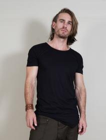 """Camiseta \""""Ayawaska\"""", Negro"""