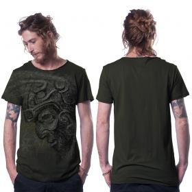 "Camiseta \""Azone\"", Verde caqui oscuro"