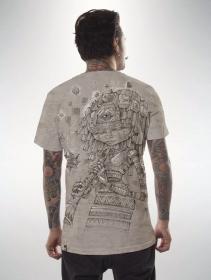 """Camiseta \""""Cubina\"""", Beige jaspeado"""