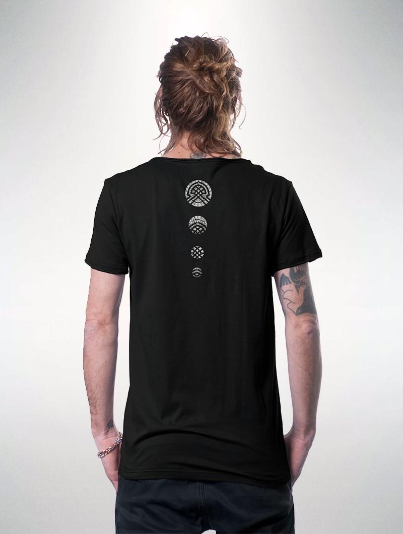 """Camiseta \""""Digital Nature\"""", Negro"""