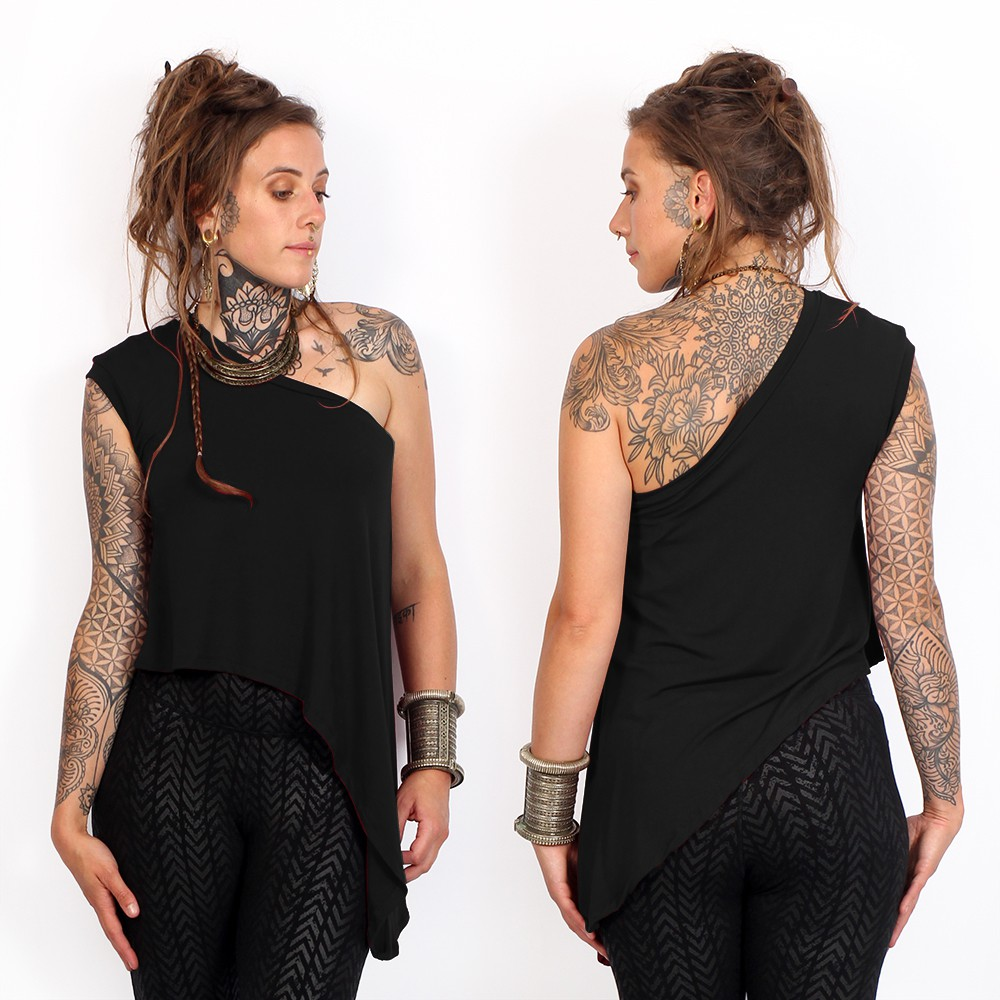 "Camiseta \""Elyra\"", Negro"