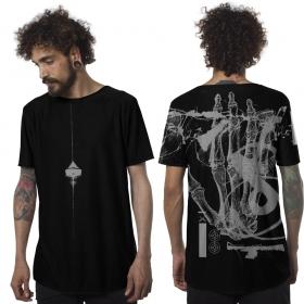"Camiseta \""Flint\"", Negro"