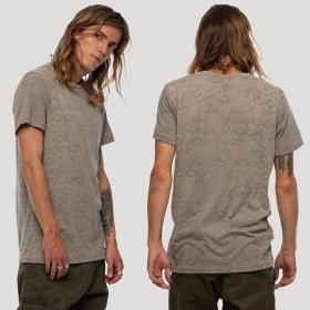 """Camiseta \""""F.O.L\"""", Gris beige"""