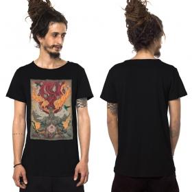 """Camiseta \""""Fusion Culture\"""", Negro"""