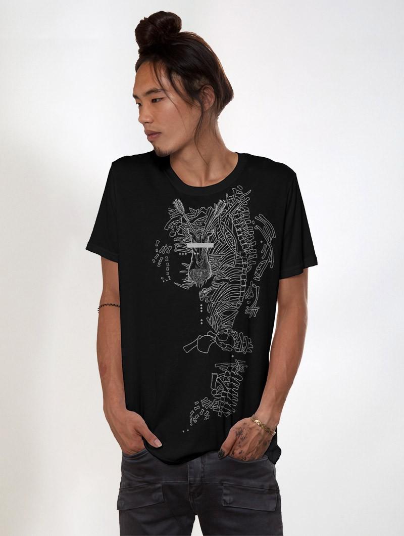 """Camiseta \""""Ganibal\"""", Negro"""