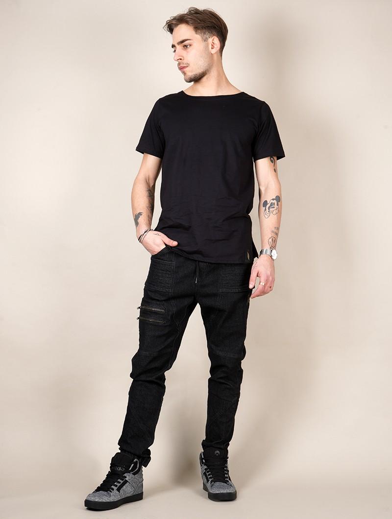 "Camiseta \""Globule\"", Negro"