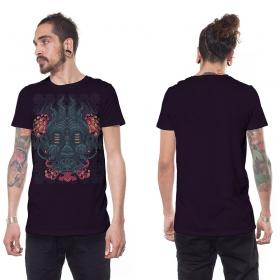 "Camiseta \""Groove Attack\"", Morado"