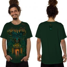 """Camiseta \""""Inner Forest\"""", Verde bosque"""