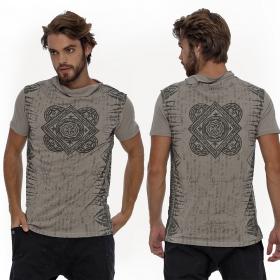 "Camiseta \""Jaya\"", Gris oscuro"