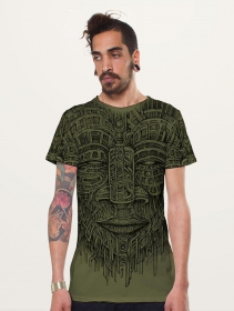 """Camiseta \""""Kadu\"""", Verde oliva"""