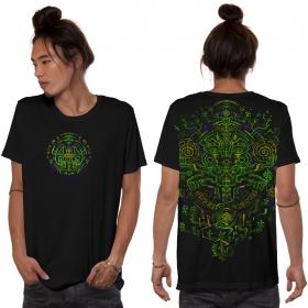 """Camiseta \""""Kaktus\"""", Negro"""