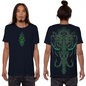 "Camiseta \""Kandula\"", Azul oscuro"
