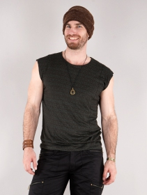 "Camiseta \""Kinetic Shipibo\"", Negro y gris"