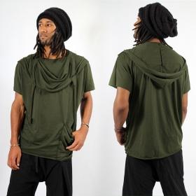 """Camiseta \""""Kusumo\"""", Verde caqui"""