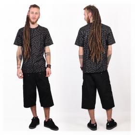"Camiseta \""Labyrinth\"", Negro"