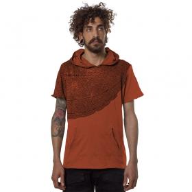 """Camiseta \""""Leaf\"""", Anaranjado"""