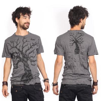 """Camiseta \""""Leafless Tree\"""", Gris oscuro"""