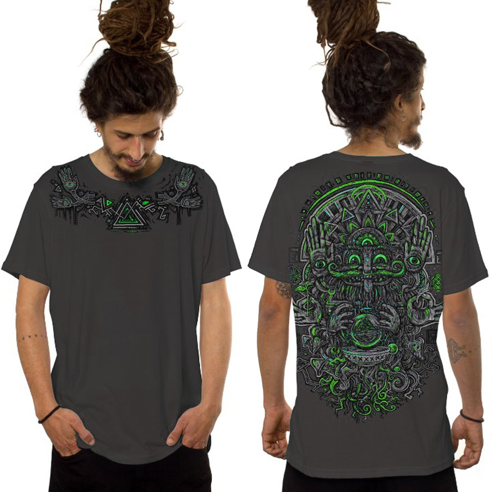 "Camiseta \""Magi\"", Gris oscuro"