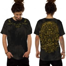 """Camiseta \""""Magi\"""", Negro"""