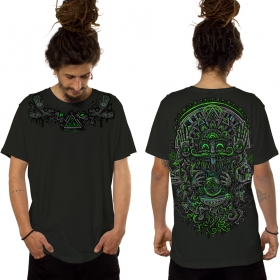 """Camiseta \""""Magi\"""", Verde caqui oscuro"""