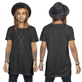 """Camiseta \""""Manitu\"""", Negro"""