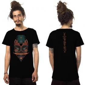 """Camiseta \""""Maskod\"""", Negro"""
