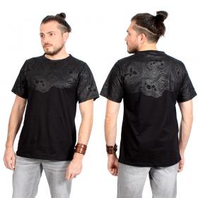 "Camiseta \""Minos\"", Negro"