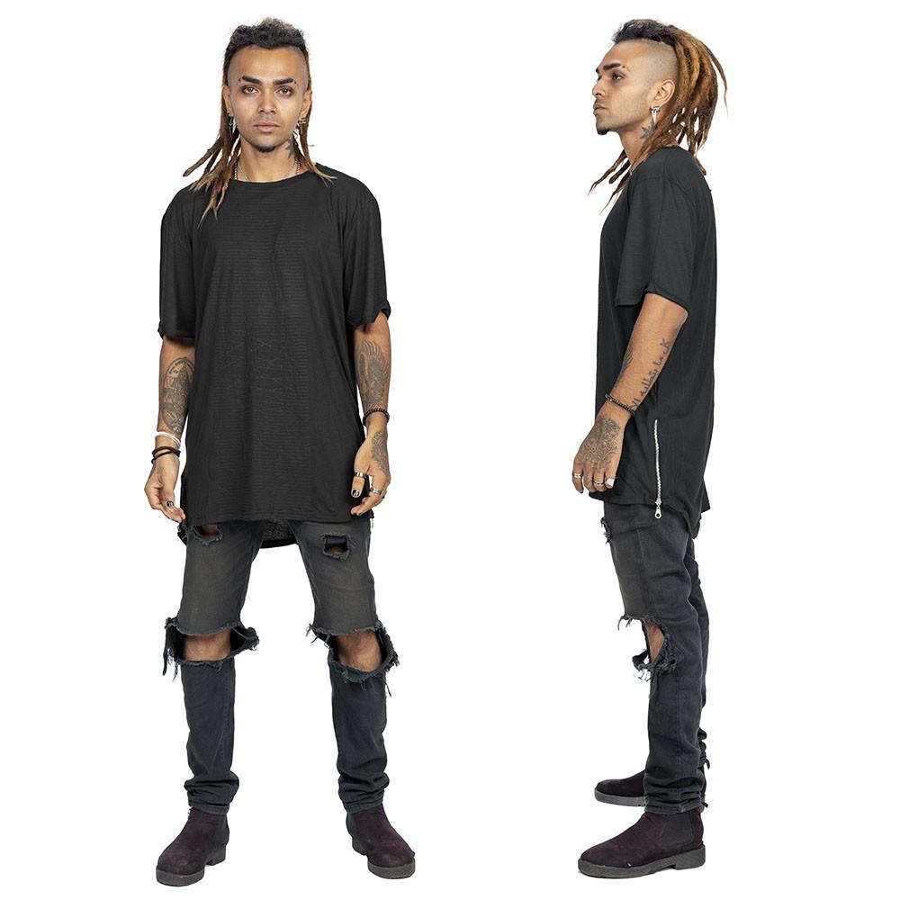 """Camiseta \""""Noah\"""", Negro"""