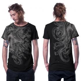 "Camiseta \""Octan\"", Negro"