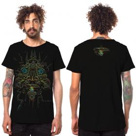 """Camiseta \""""Oracular\"""", Negro"""