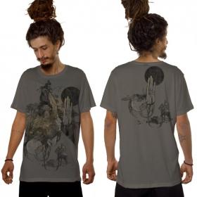 "Camiseta \""Sarmata\"", Gris claro"