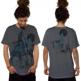 """Camiseta \""""Sarmata\"""", Gris oscuro"""