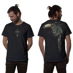 "Camiseta \""Shlooky\"", Gris oscuro"