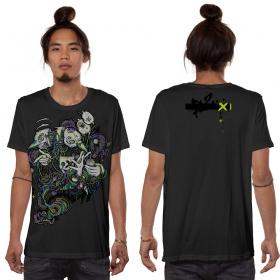 "Camiseta \""Switcher\"", Gris oscuro"