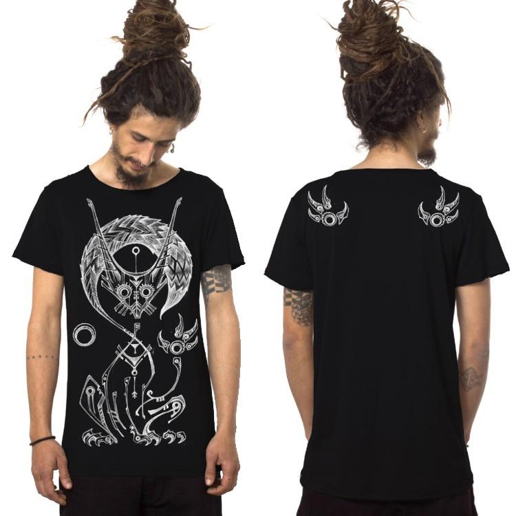 """Camiseta \""""Taliz\"""", Negro"""