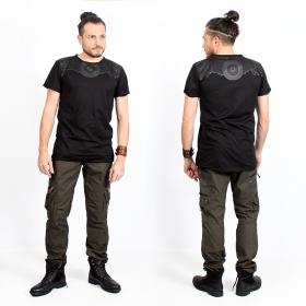 """Camiseta \""""Tierra Amnesia\"""", Negro"""