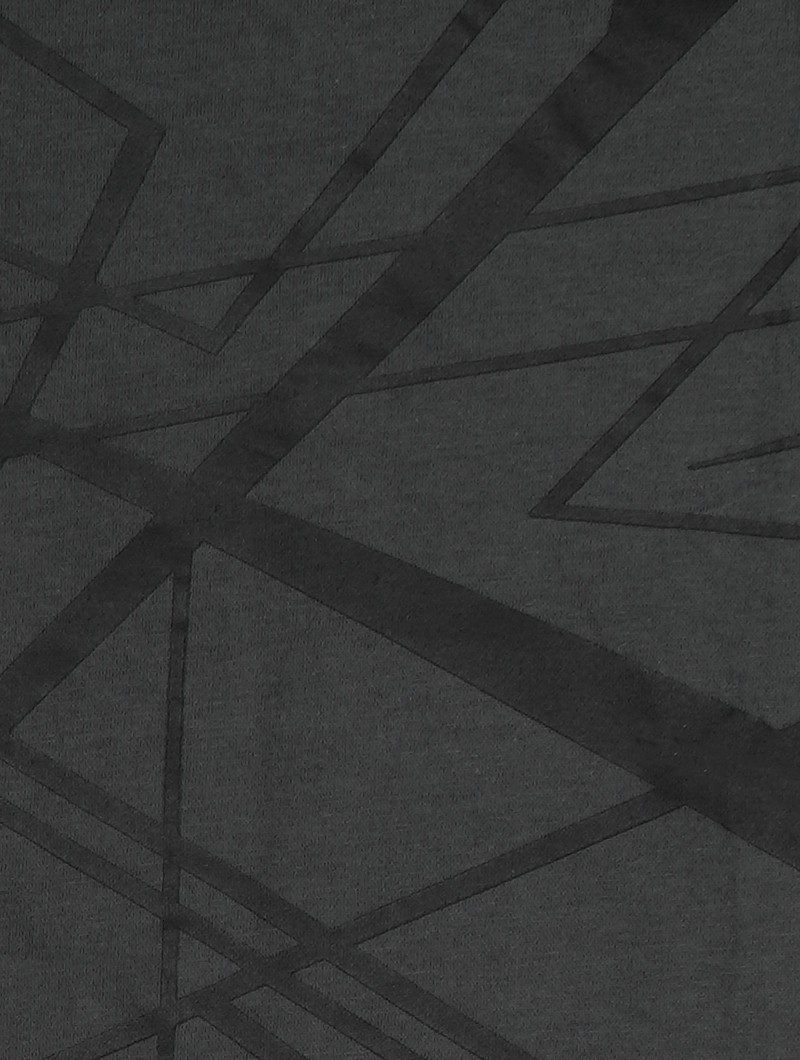 """Camiseta \""""Tierra Babylon\"""", Gris carbón y negro"""