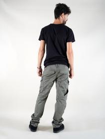 "Camiseta \""Tierra Maori\"", Negro"
