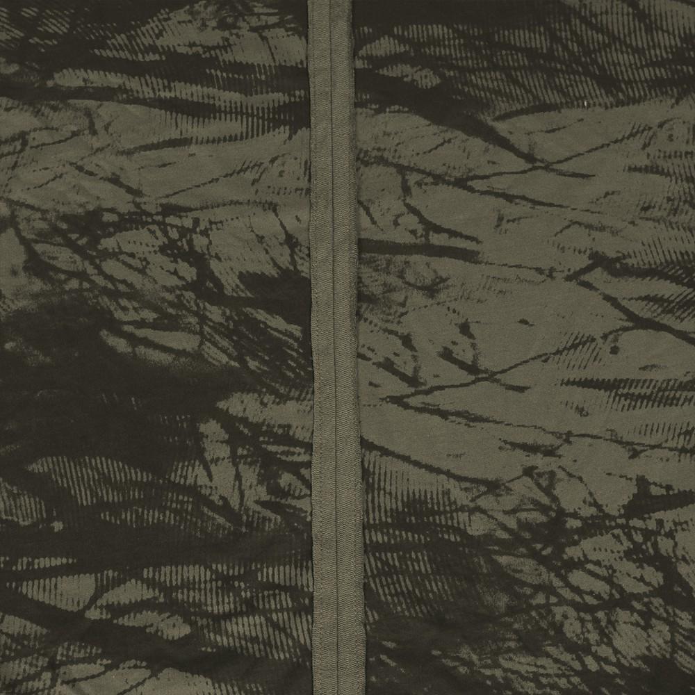 """Camiseta \""""Treeping\"""", Verde caqui y negro"""