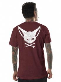 """Camiseta \""""Twizy\"""", burdeos"""