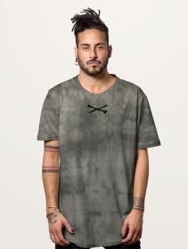 "Camiseta \""Twizy\"", Gris tie-dye"