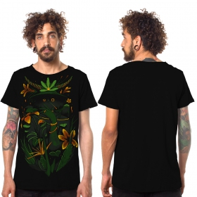 "Camiseta ""Where is the forest\"", Negro"