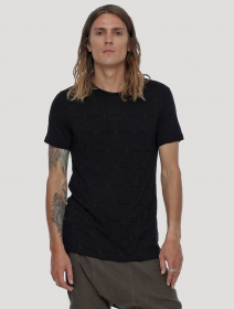 "Camiseta \""Zentangle\"", Negro"