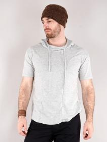 """Camiseta con capucha \""""Aldaron\"""", Gris"""