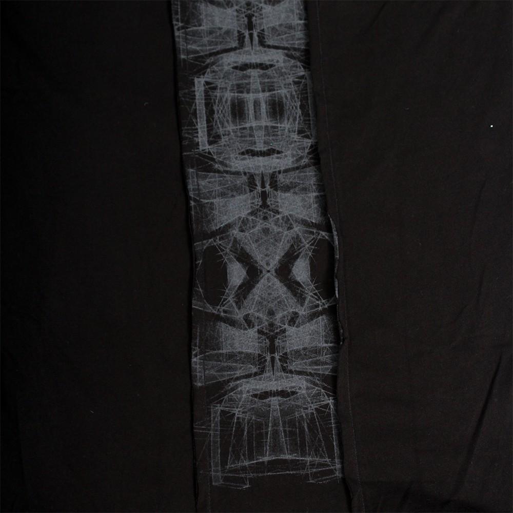 "Camiseta con capucha \""Geomeister\"", Negro"